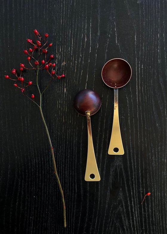 Erica Moody | Brass + Copper Coffee Scoop
