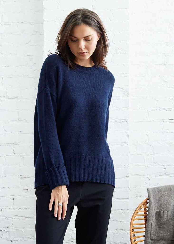 Not Monday | Mila Cashmere Crewneck Sweater