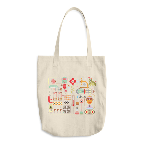 Flower Lab Tote Bag