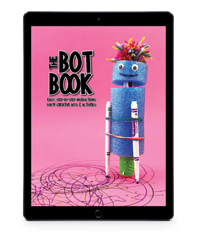 The Bot Book - 19 Creative Bot Builds and Activities for Kids