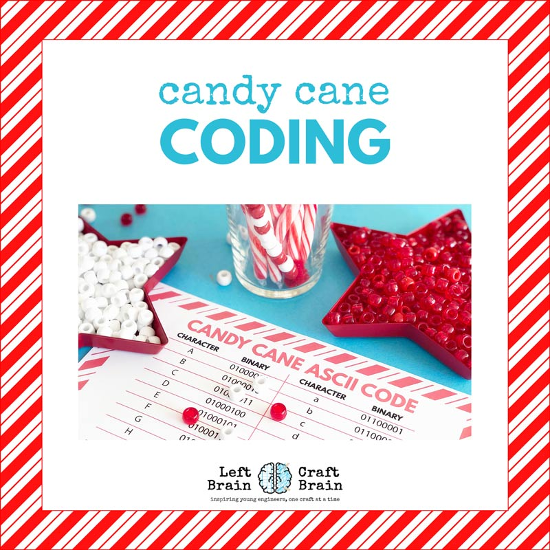 Candy Cane Coding STEAM Activity