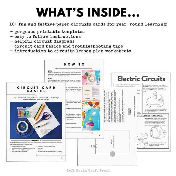 Circuit Cards: Paper Circuits for Kids Ebook