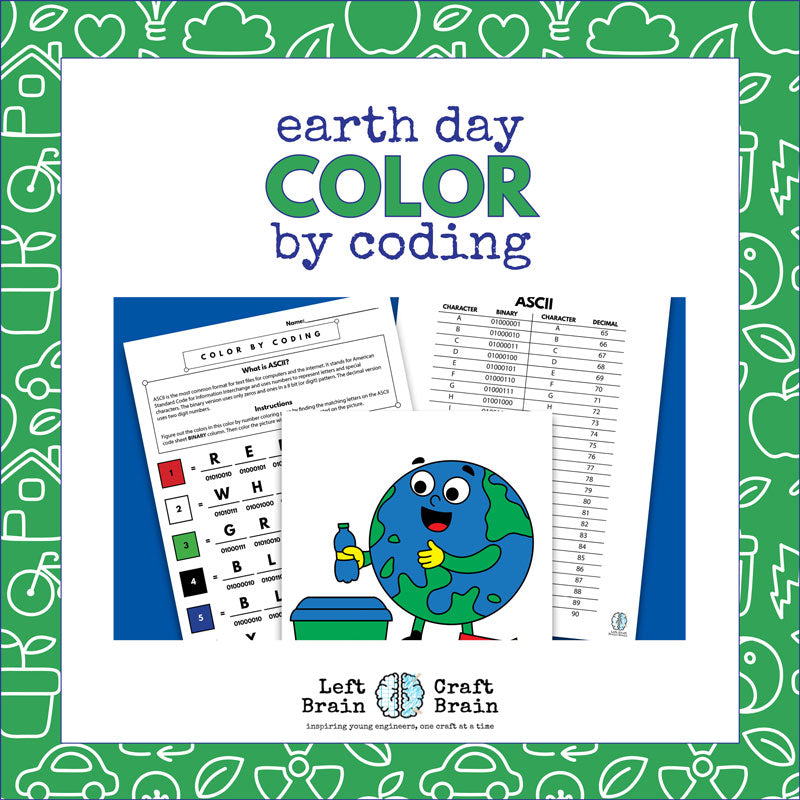 Earth Day Color by Coding