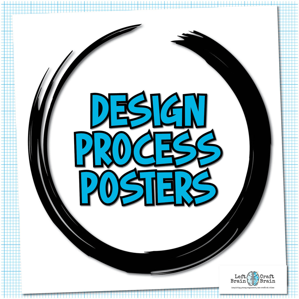 Engineering and Design Process Printable Posters