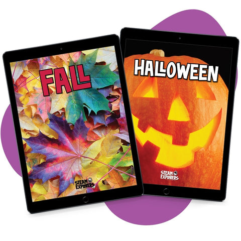 Fall & Halloween Ebook Bundle by STEAM Explorers