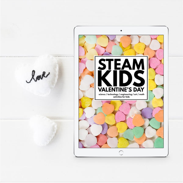 STEAM Kids Valentine's Day Ebook