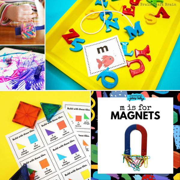 Preschool Play Lab: M is for Magnets
