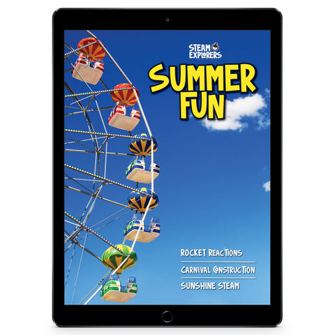 Summer Fun Ebook by STEAM Explorers
