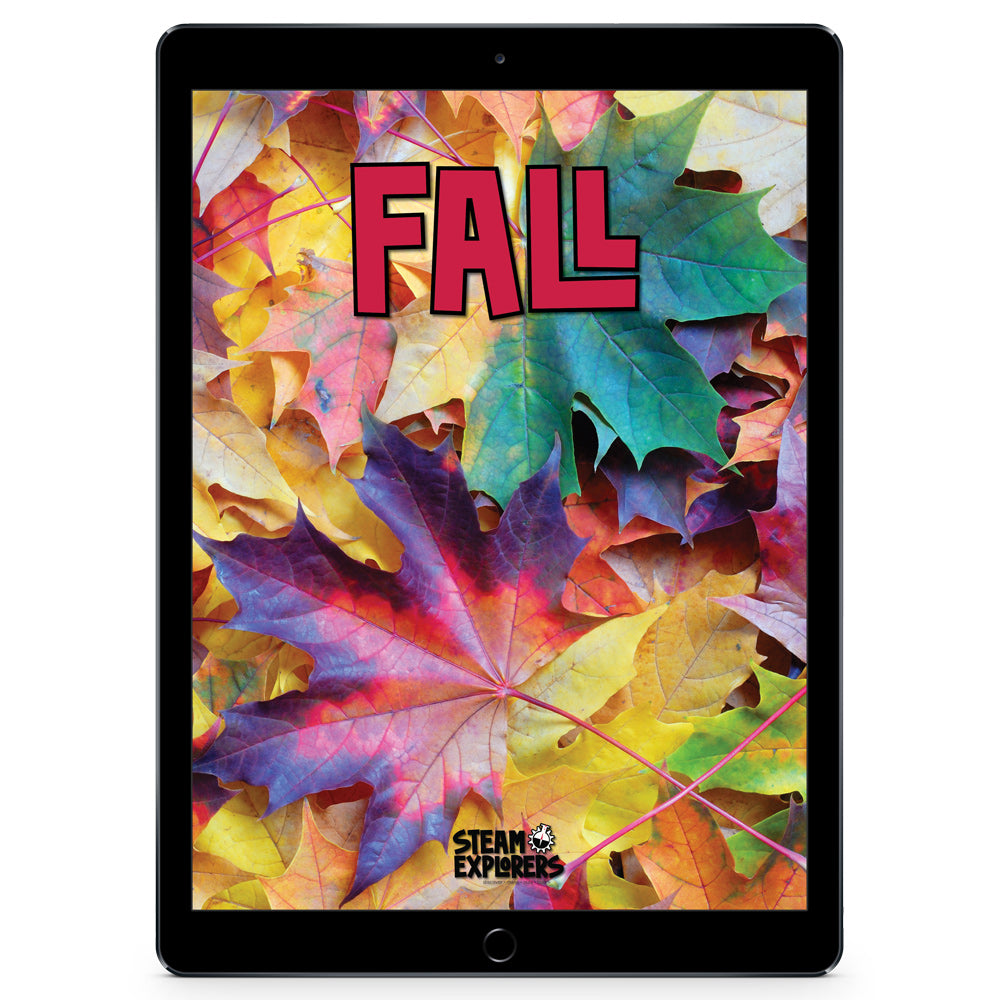 Fall Ebook Unit Study by STEAM Explorers