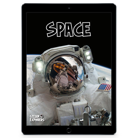 Space Ebook Unit Study by STEAM Explorers