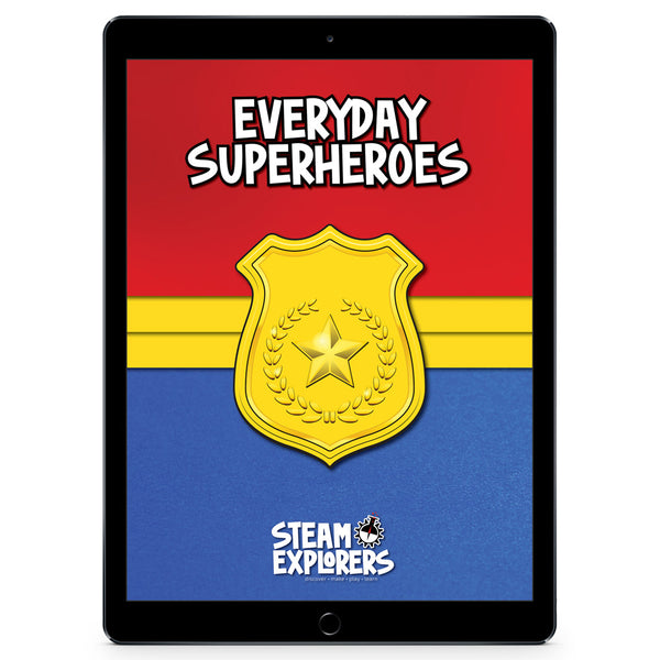 Everyday Superheroes Activity Ebook by STEAM Explorers
