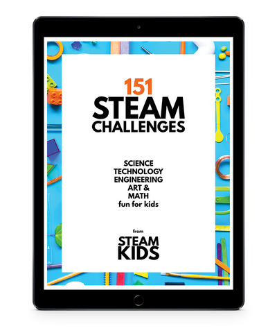 151 STEAM Challenges for Kids