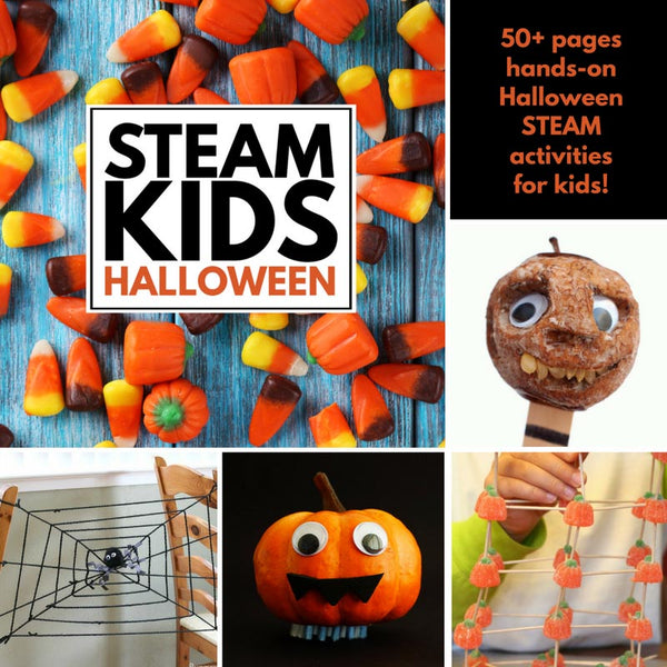 STEAM Kids Halloween e-Book pDF