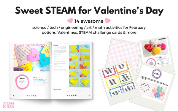 STEAM Kids Valentine EBook Bundle