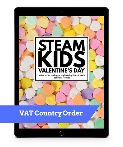 VAT Country Order - STEAM Kids Valentine's Day EBook