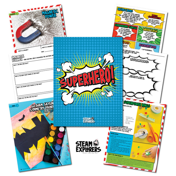Superhero! Ebook by STEAM Explorers