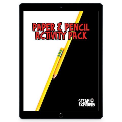 Paper & Pencil Activity Pack