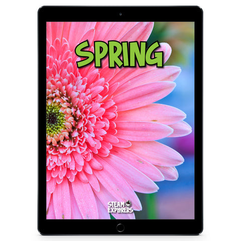 Spring Ebook Unit Study by STEAM Explorers
