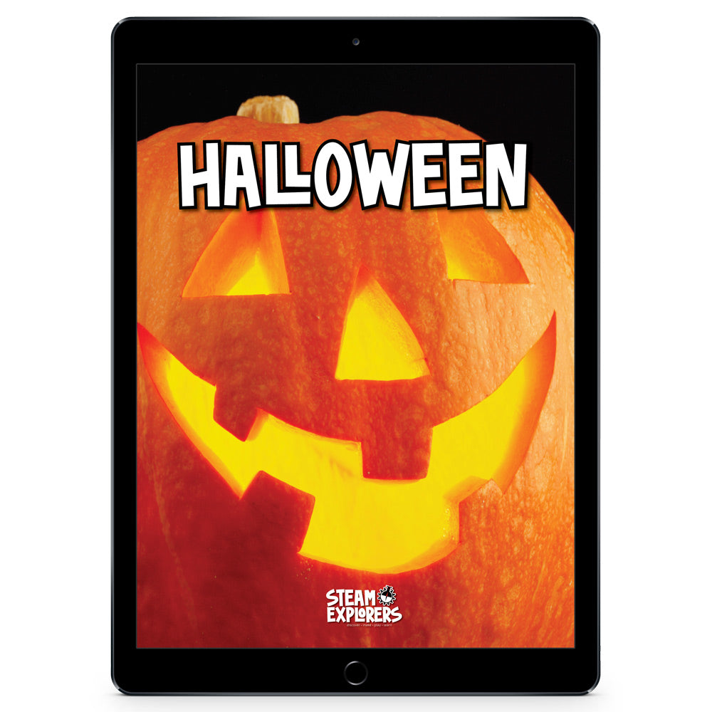 Halloween Ebook Unit Study by STEAM Explorers