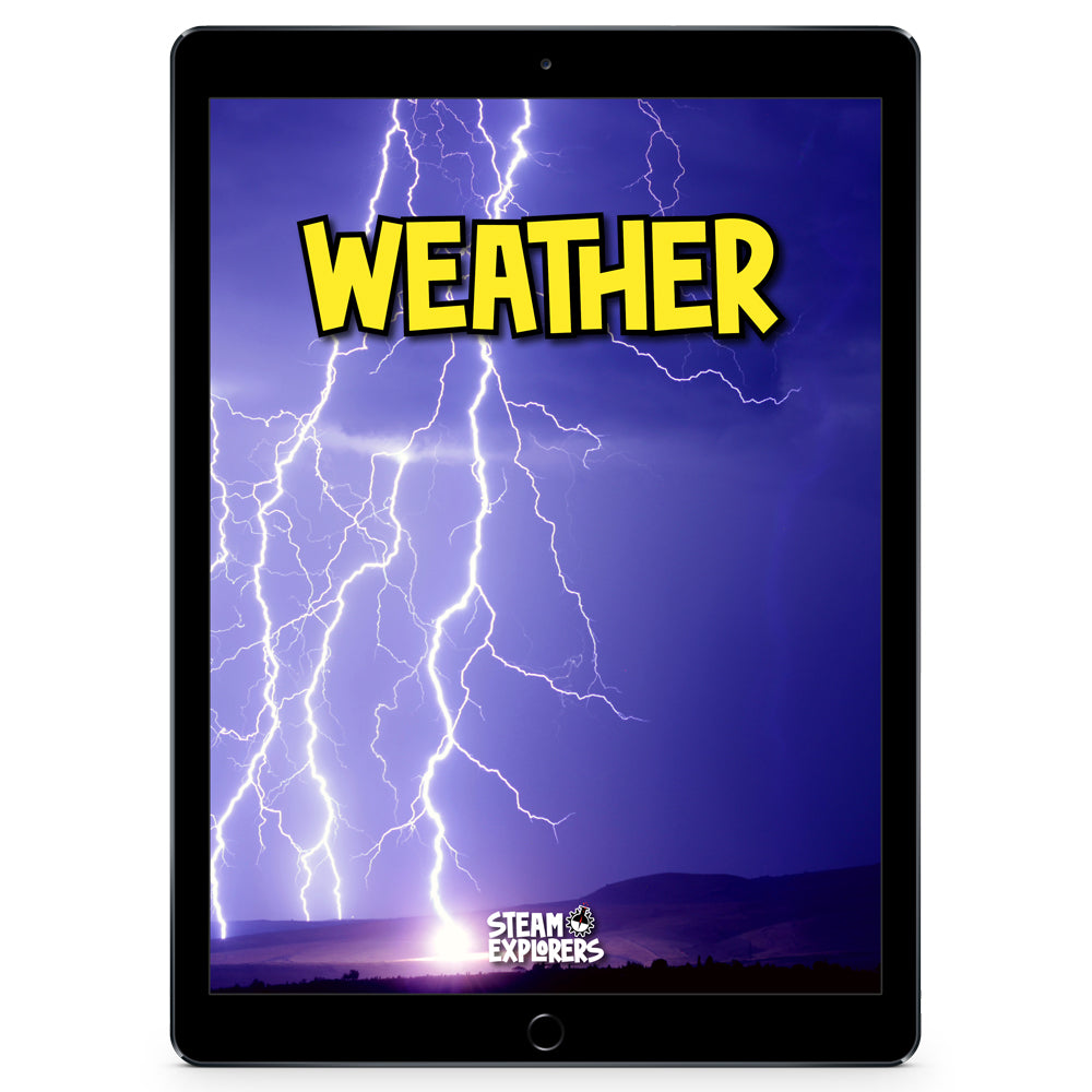 Weather Ebook Unit Study by STEAM Explorers