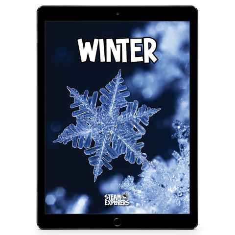 Winter Ebook Unit Study by STEAM Explorers