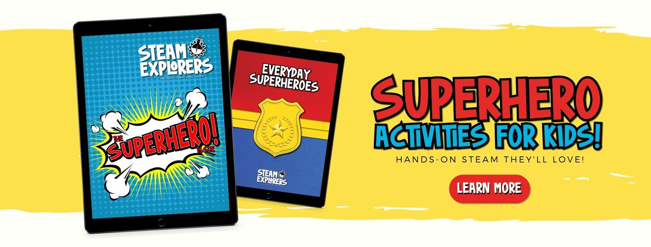 Superhero Activities for Kids