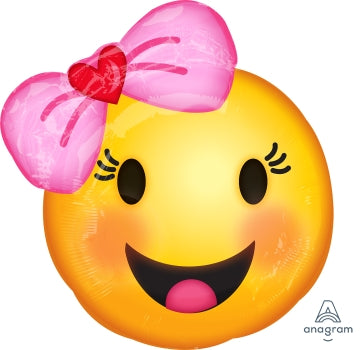 JR SHP MET Happy Emoticons wtih Bow