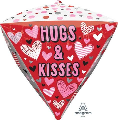 DIAMONDZ MET HUGS, KISSES, & HEARTS