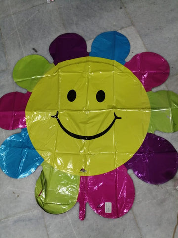 Globo super shape flor de colores