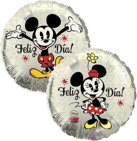 AN09RND3STD-ME-Mickey  and  Minnie(2-sid