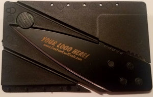 Custom Branded Credit Card Knife