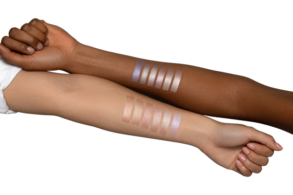 glow milk swatches