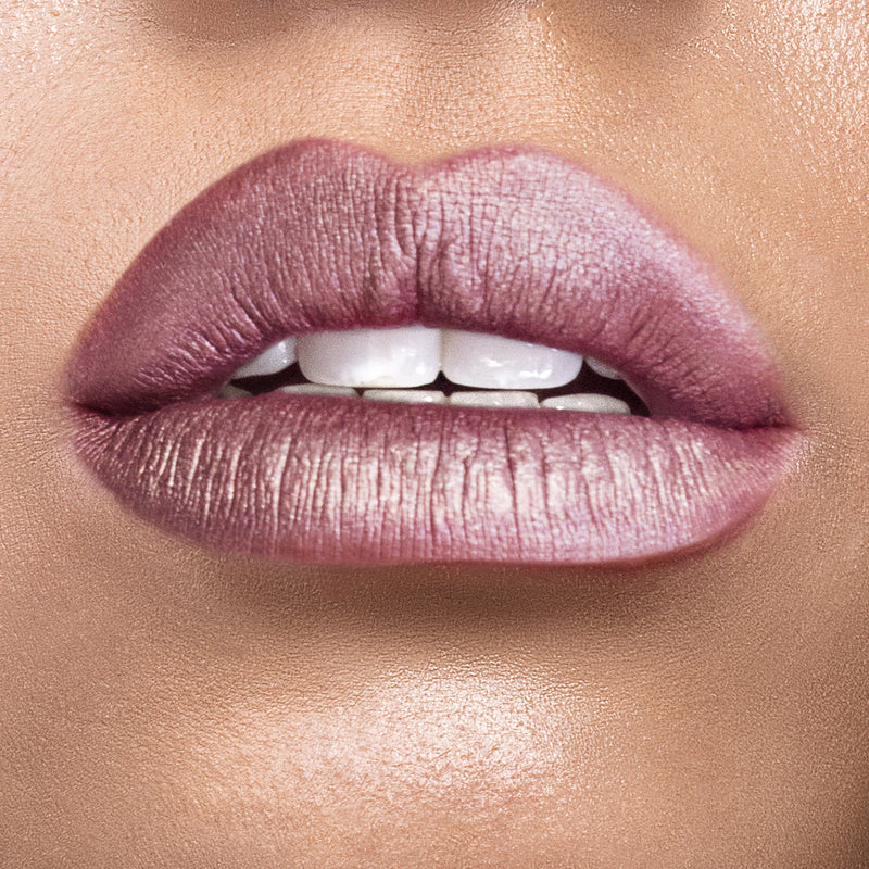 Metallic GRLPWR Liquid Lipstick - Bellini - The Beauty Crop