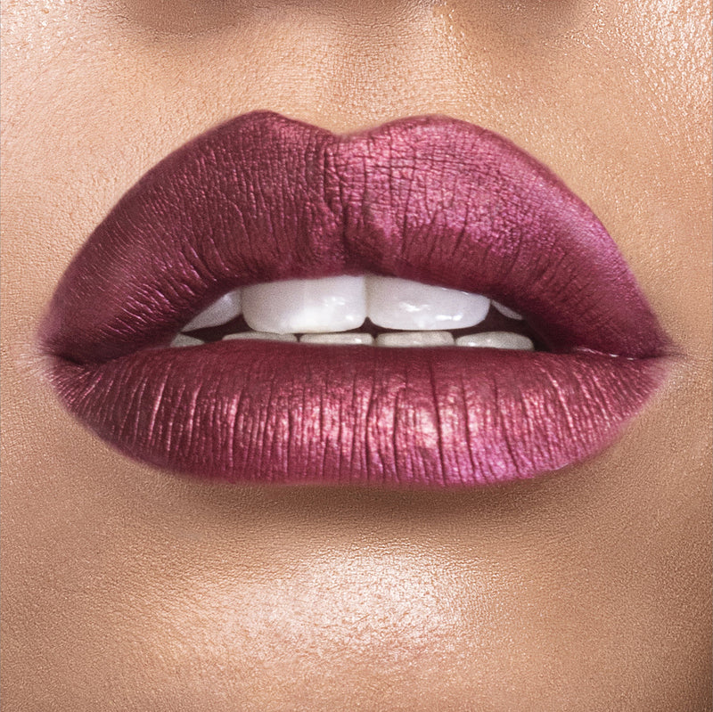 Metallic GRLPWR Liquid Lipstick - Royale - The Beauty Crop