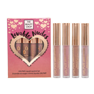 Lovable Nudes Set - Mini Liquid Lipstick Set