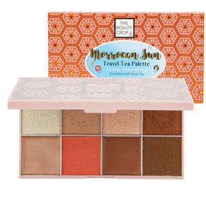 Travel Tea Face Palette - Moroccan Sun - The Beauty Crop