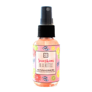 Sunshine in a Bottle Hair & Body Mist - The Beauty Crop