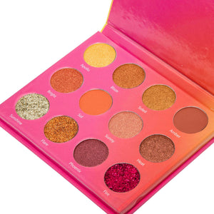 """Gazing Eyeshadow Palette Vault"" Holiday Makeup Set"
