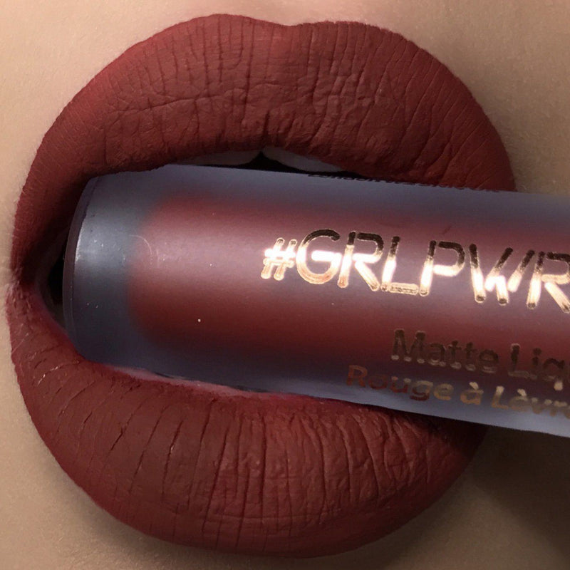 GRLPWR Liquid Lipstick - Imma Bawse - The Beauty Crop