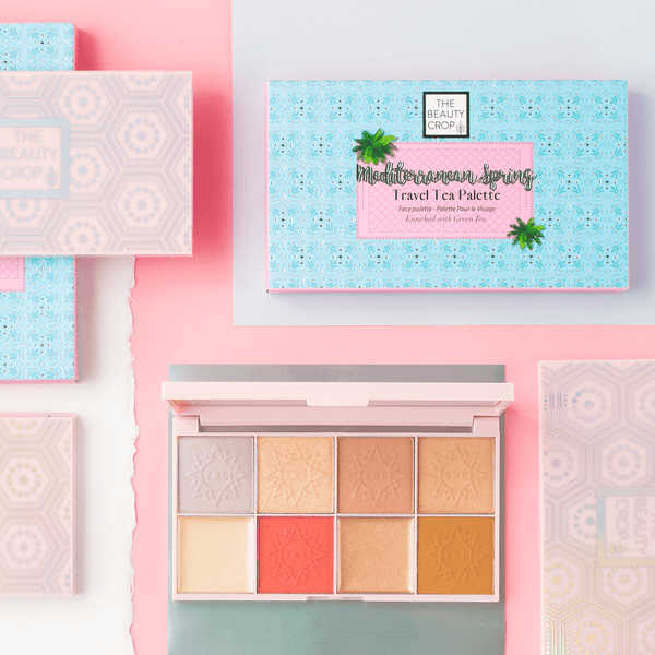 Travel Tea Face Palette - Mediterranean Spring