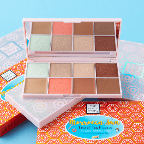 Travel Tea Face Palette - Moroccan Sun