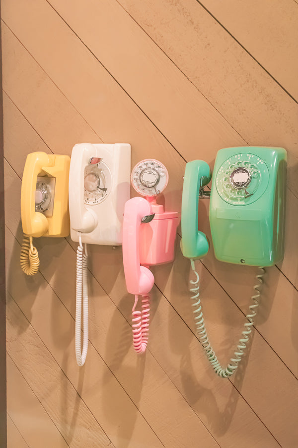 Old Telephone Museum Aesthetic