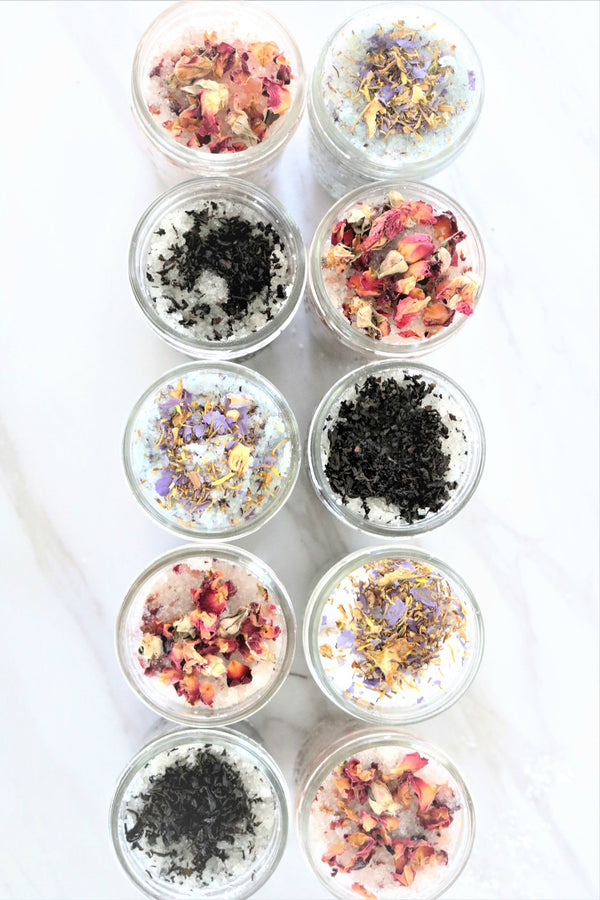 How to make easy DIY all natural bath salts