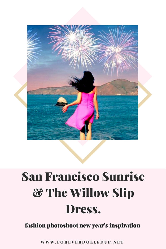 San Francisco Sunrise & The Willow Slip Dress