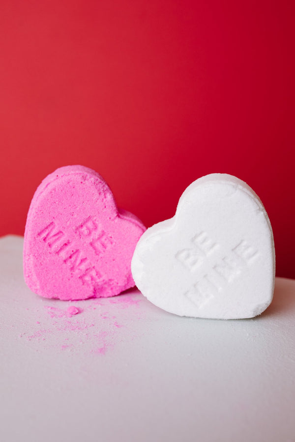 Love Yourself First Heart Shaped Bath Bomb