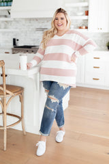 Audrey Striped Sweater