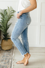 Beach Splash Boyfriend Jeans