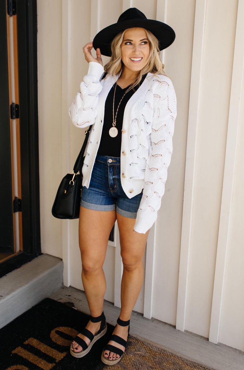 Brianna Button-Up Sweater