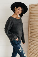 Cozy and Chic Dressed in Charcoal