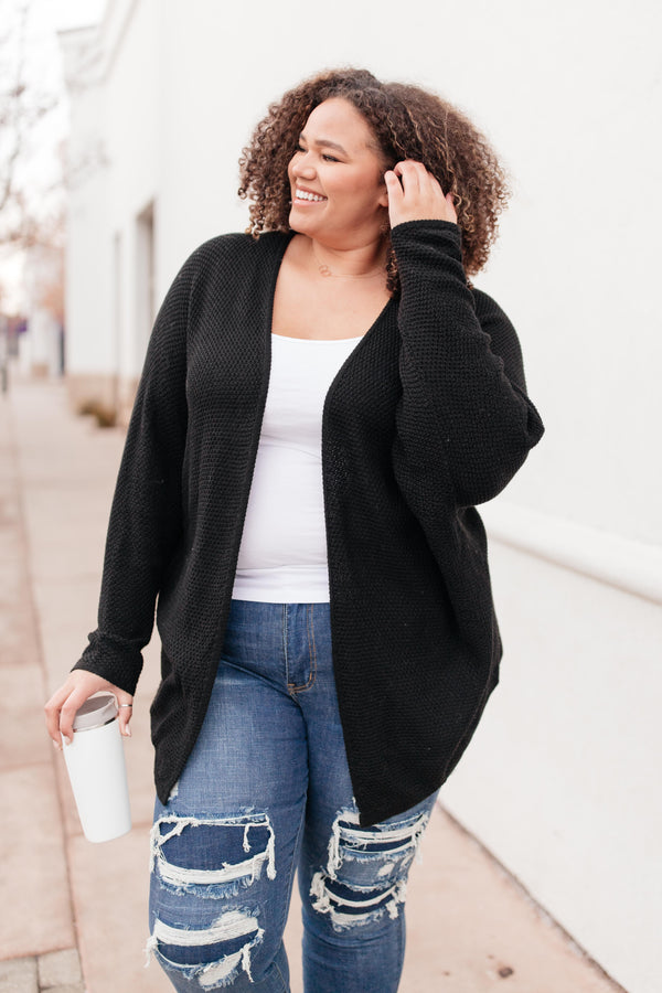 Ellison Cardigan in Black